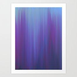 Violet Chromatic Art Print