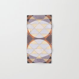 Triangles and Circles Pattern no.24 Hand & Bath Towel