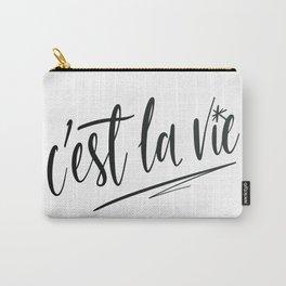 C'est la vie! Carry-All Pouch