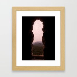 Teeth Grinding Framed Art Print
