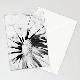 Dandelion BW Stationery Cards