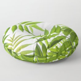 Embrace of a Rowan Tree Floor Pillow