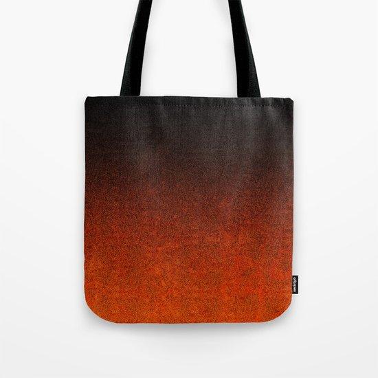 Orange & Black Glitter Gradient by falln