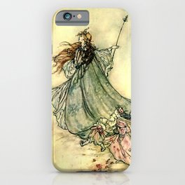 """Queen of the Fairies"" by Arthur Rackham Midsummer's Night iPhone Case"