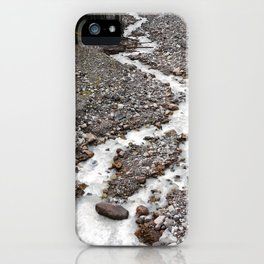 The birth of Nisqually river iPhone Case