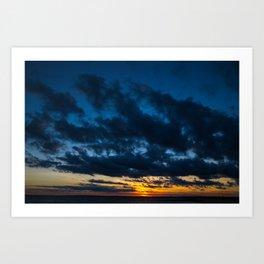 Sky Drama Art Print