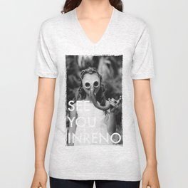 See You In Reno - Gask Mask Unisex V-Neck
