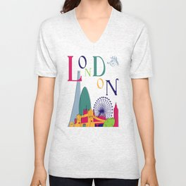 London Belle Epoque 2 Unisex V-Neck
