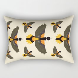 Baltimore Oriole Rectangular Pillow