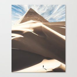 The Great Pyramid Canvas Print