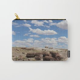 Crystal Forest Logs Carry-All Pouch