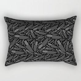 Knife Pattern Rectangular Pillow