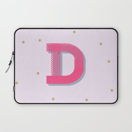 D is for Delightful Laptop Sleeve