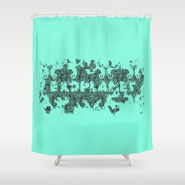 Exoplanet 2013 Shower Curtain