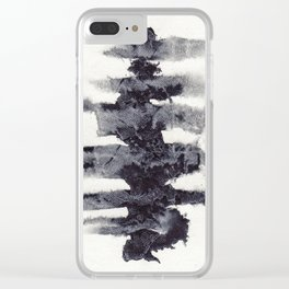 the spinal column Clear iPhone Case