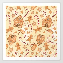 Smell of Gingerbread Art Print