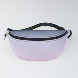 Blue Lilac Millennial Pink Ombre Gradient Pattern Fanny Pack