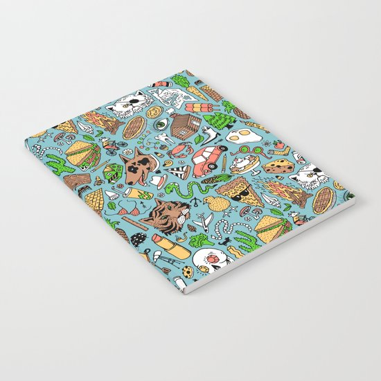 Adventure Supplies Notebook