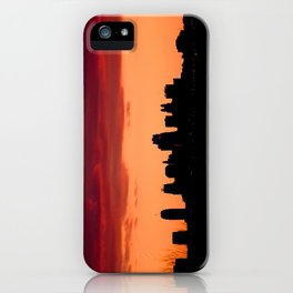 Kansas City Missouri Skyline at Sunset iPhone Case