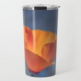 California Poppy Travel Mug