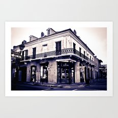 One Day on Rue Royale Art Print