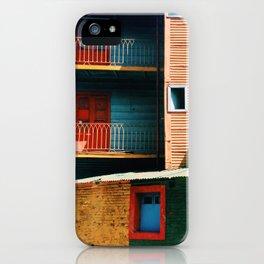 Caminito iPhone Case