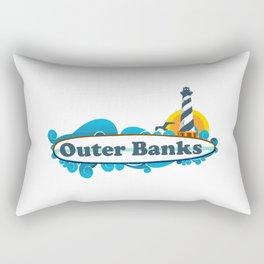 Outer Banks - North Carolina. Rectangular Pillow
