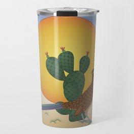 Soul of the Southwest - Roadrunner in the Desert Travel Mug