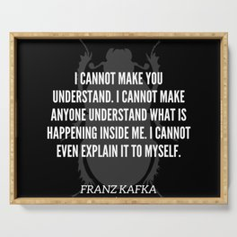 10 |  Franz Kafka Quotes | 190517 Serving Tray