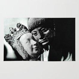 Statues in Love Rug