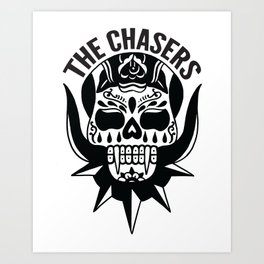 The Chasers - The Walking Dead shirt Art Print