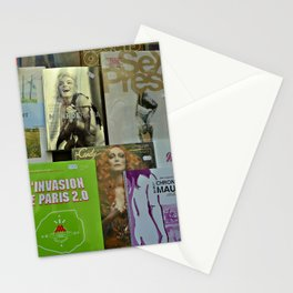 Pulp fiction by Lika Ramati Stationery Cards