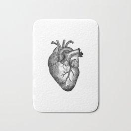 Vintage Heart Anatomy Badematte