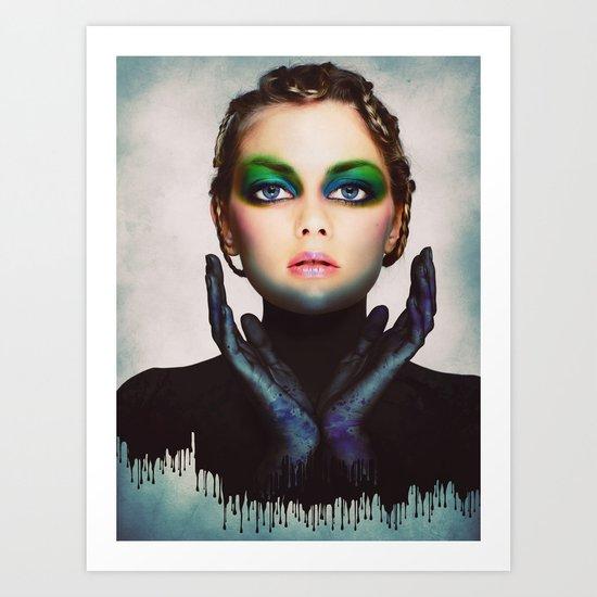 The Girl 6 Art Print