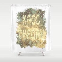 Kaos theory on sandy fractal Shower Curtain