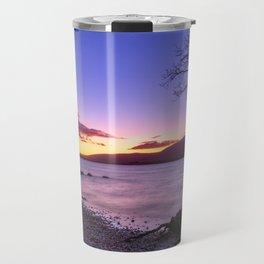 Scottish winter @ blue hour Travel Mug