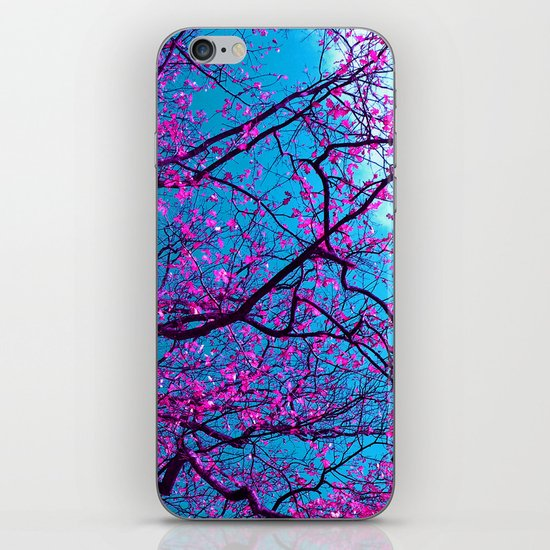 purple tree XV iPhone & iPod Skin