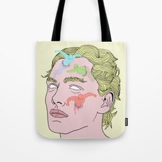 The Complexities of Having a Swimming Pool Face Tote Bag