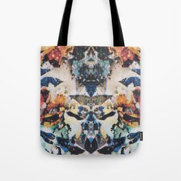 Rorschach Flowers 8 Tote Bag
