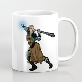 Strong female pose - Anders Coffee Mug