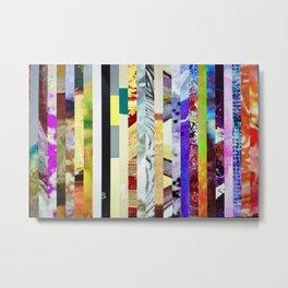 static 1.1 Metal Print