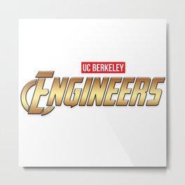 UC Berkeley Engineers Metal Print