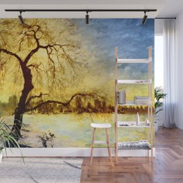 Walk Under the Willow Wall Mural