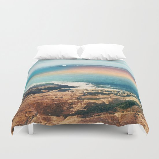 Colours of the sea Duvet Cover