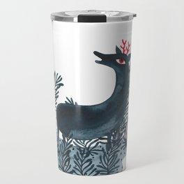 Deep sea deer Travel Mug