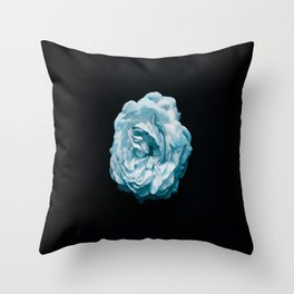BLACK N' BLUE Throw Pillow