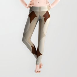 Taupe Linen Grey Neutrals Leggings