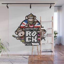 United we rock! Wall Mural