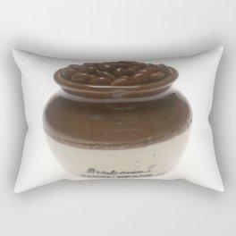Baked BBQ Beans Photograph Rectangular Pillow