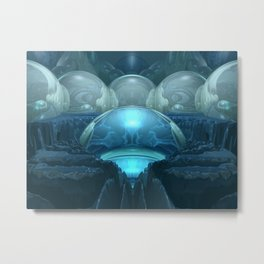 Inside A Blue Moon Metal Print